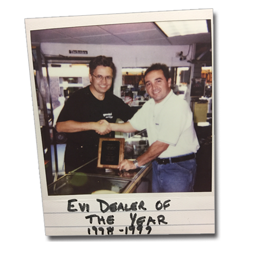 EV Dealer Of The Year 1998-1999